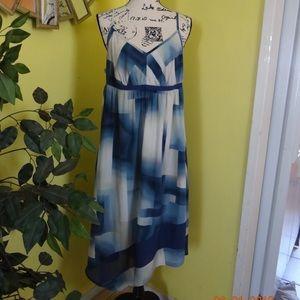 SIMPLY VERA WANG WOMEN DRESS SIZE XL COLOR BLUE